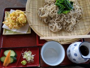栃木の美味いもの:寒ざらし・新芽蕎麦和(なごみ)