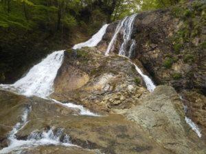 栃木の自然:咆哮霹靂の滝周辺は滝が沢山