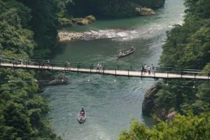 栃木の自然:鬼怒川温泉の渓谷美
