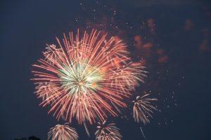 栃木の名所:足利の花火