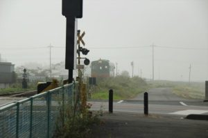 栃木の名所・旧跡:霧の真岡鉄道