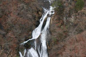 栃木の自然:師走の霧降の滝