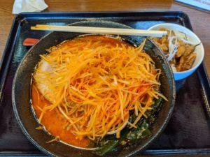栃木の美味いもの:一虎の辛みそラーメン