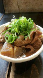 栃木の美味いもの:高野食堂の親父の手料理