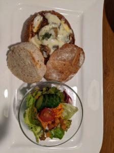 栃木の美味いもの:カテッジインレストランのランチ