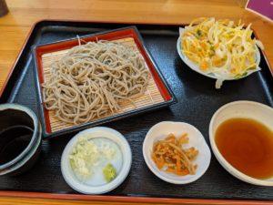 栃木の美味いもの:蕎川庵高瀬の蕎麦