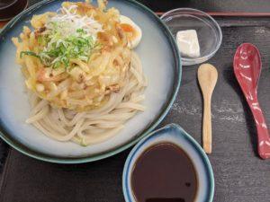 栃木の美味いもの:草庵のぶっかけうどん