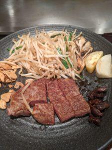 栃木の美味いもの:栃木和牛なら東武ホテルグランデ・鉄板焼き下野