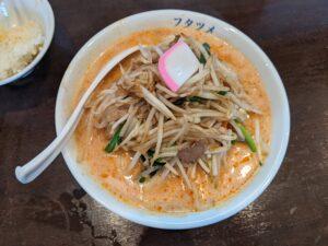 栃木の美味いもの:フタツメのタンメン