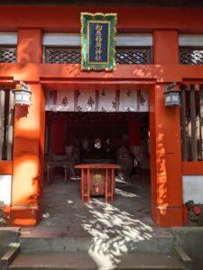 栃木の名所旧跡:二荒山神社に疫病鎮めの神様