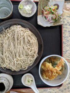 栃木の美味いもの:無限花序の天丼セット
