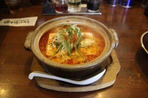 栃木の美味いもの:いろは商店の土鍋麻婆味噌ラーメン