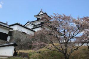 栃木の名所:福島白河市の小峰城